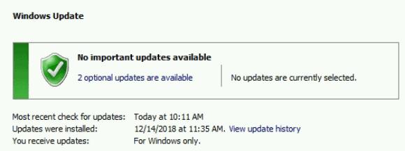 Windows Update Reboot Loop